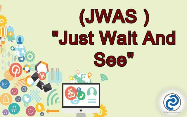 JWAS Meaning in Snapchat,