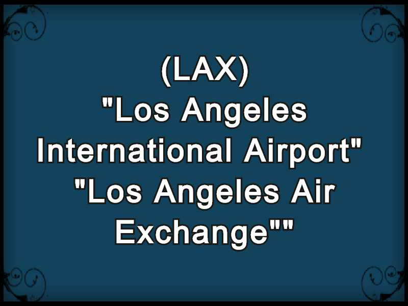 LAX Meaning in Snapchat,