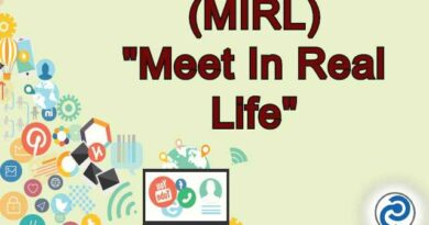 MIRL Meaning in Snapchat,