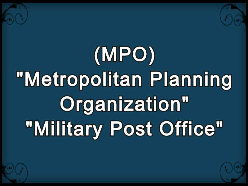 MPO Meaning in Snapchat,