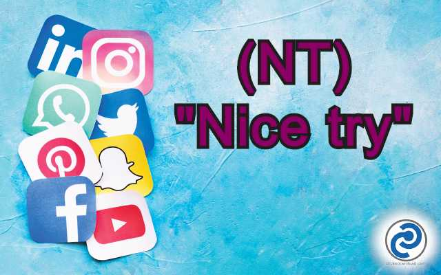 NT Meaning in Snapchat,