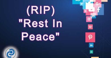 RIP Meaning in Snapchat,