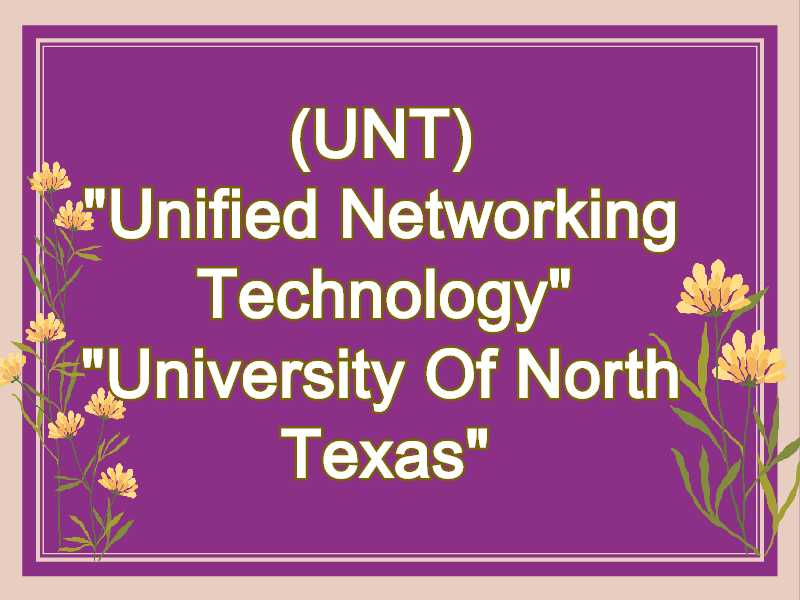 UNT Meaning in Snapchat,